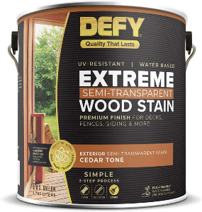 DEFY Extreme Wood Stain, the best Best Stain for Old Deck