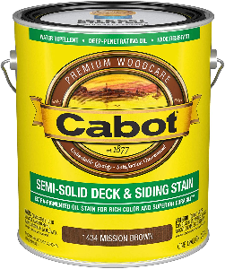 image of cabot stain for new deck