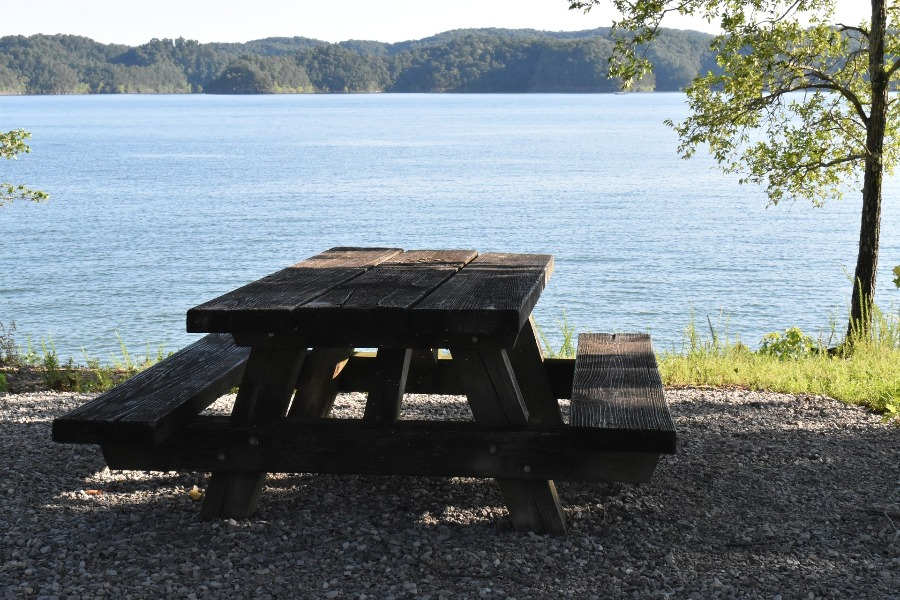 Image of outdoor table that needs best exterior polyurethane for protection