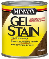 Minwax gel stain for mahogany deck