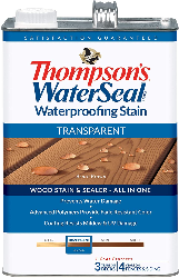 Thompson's waterseal, the best stain for new deck