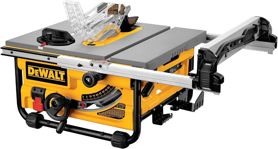 Image of dewalt DW745, the best portable saw for fine woodworking