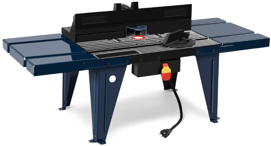 Image of Goplus Electric Aluminum Router Table WoodWorking Craftsman Tool Benchtop which is the best benchtop router table