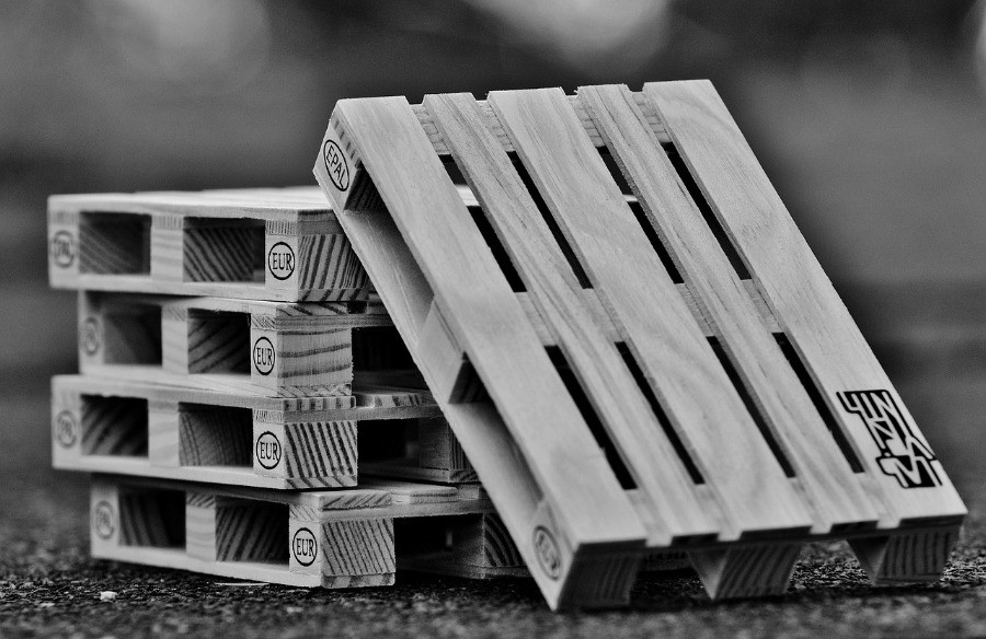 Image of Euro Pallets. However, are pallets pressure treated