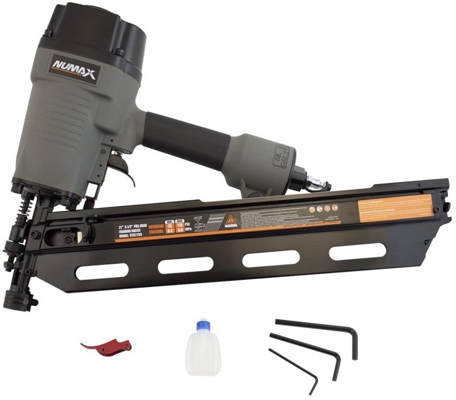 Image of NuMax, arguably the Best Pneumatic Finish Nailer