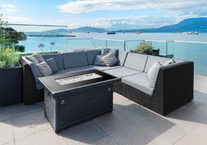 Image of outland, the Best Fire pit for Wood Deck