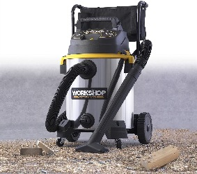 Image of a shop vac for dust collection