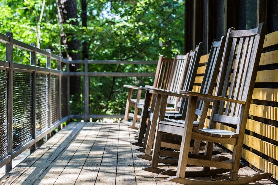 Image of a porch floor that needs Best Paint for Wooden Porch Floor