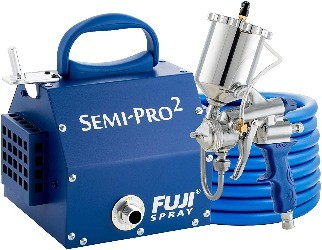 Fuji, the best HVLP Spray Gun for Wood Finishing