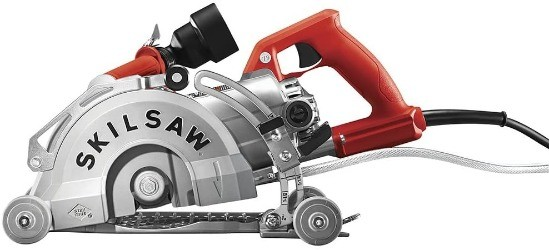 image of worm drive circular saw