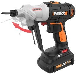 Image of worx, one of the best drills for woodworking