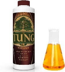 Image of Tung Oil, the best finish for dining table top