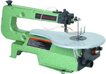 Image of a scroll saw for woodworking