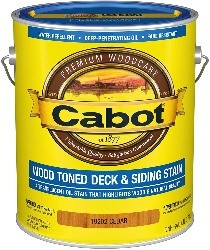 Image of cabot, one of the best stains for new deck