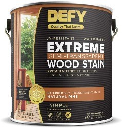 Image of Defy which is the best sealer for redwood