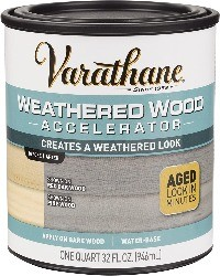 varathane stain for rustic look