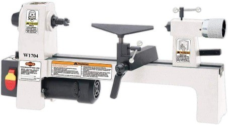 Image of shop fox, the best wood lathe for beginners