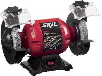 Image of Skil benchtop grinder