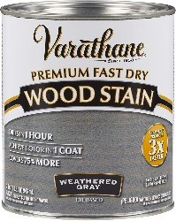 wood stain for rustic look