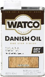 Watco, best finish for dining table top
