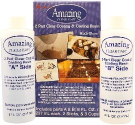 Image of aluminate, one of the best epoxy resins for wood crafts