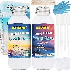 Epoxy resin for wood crafts