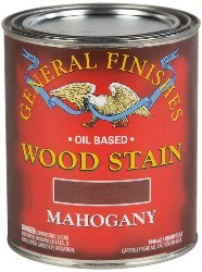 General Finish stain for Mahogany deck