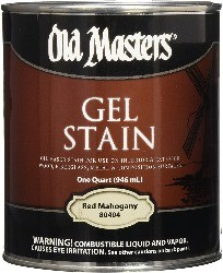Old masters, the best stain for mahogany deck