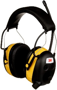 Woodworking hearing protectors by 3M