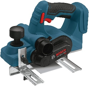 Image of a cordless planer