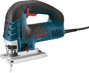 Image of a woodworking jigsaw by Bosch