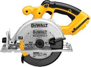 Image of a dewalt cordless circular saw