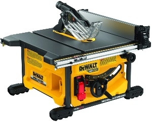 Image of Dewalt, the best cordless table saw