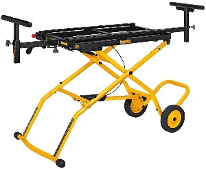 Image of the Best Miter Saw Stand with Wheels by Dewalt