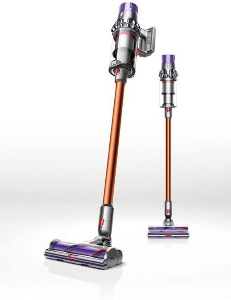 Image of a stick vacuum cleaner for hardwood floor