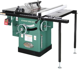 Image of a cabinet table saw