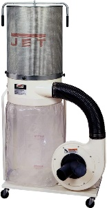 Image of Jet dust collector for woodworking