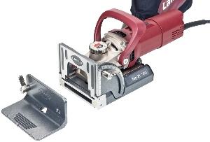 Lamello biscuit jointer for woodworking