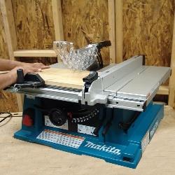 Image of makita woodworking table saw