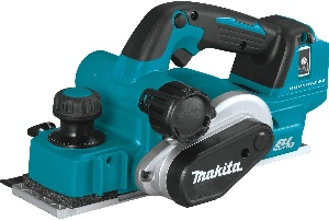 Image of a cordless wood planer