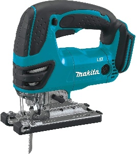 Image of Makita cordless jigsaw for woodworking