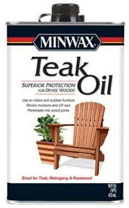 Outdoor furniture oil by minwax
