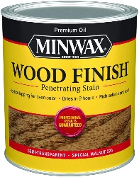 Minwax wood finish for walnut