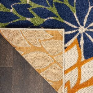 Image of Nourison Aloha Multicolo, a water resistant deck rug