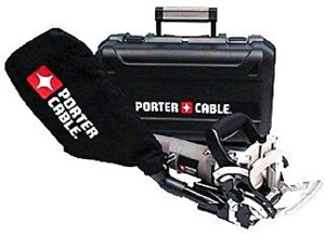 A biscuit jointer