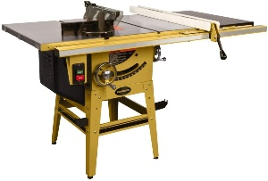 Powermatic table saw for woodworking
