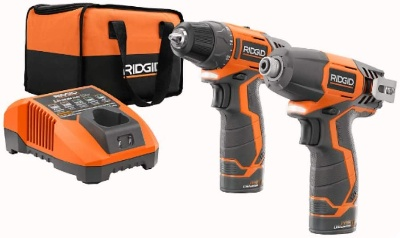 A cordless drill for woodworking