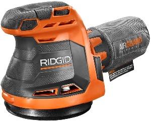 Rigid, the best cordless random orbital sander