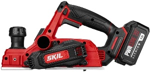 Image of skil cordless planer for woodworking