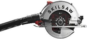 A sidewinder circular saw